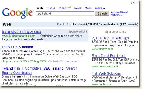 Google loves Yahoo