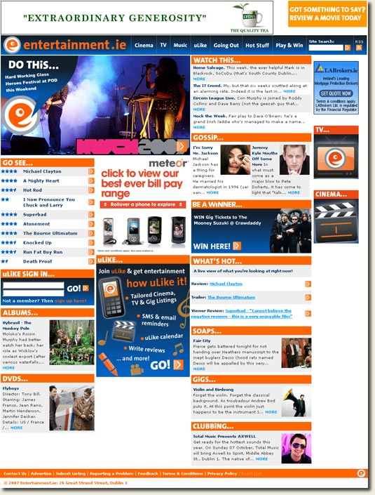 entertainment.ie homepage new image