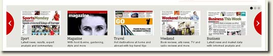 Picture of Irish Times Homepage Carousel