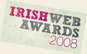 Irish Web Awards (pinched from Maryrose)
