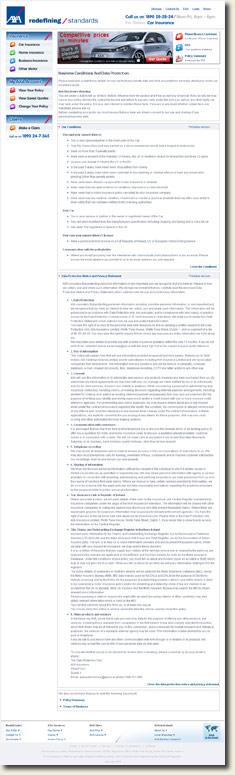 Axa Terms & Conditions