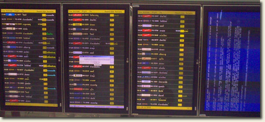 Bangkok Airport Blue-Screen-Of-Death