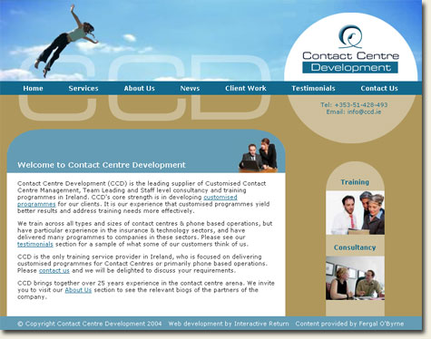 Contact Centre Development