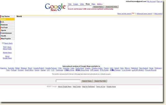 Google News World