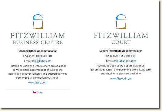 Fitzwilliam Business Center and Court website